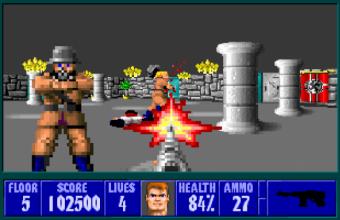 Wolfenstein 3D var faktisk forbudt i Tyskland på grunn av nazisttemaet.